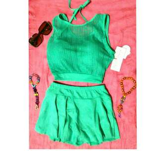 Bnew with tag skort typed swimsuit