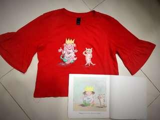 Handmade Fabric art / fabric painting / Tshirt art