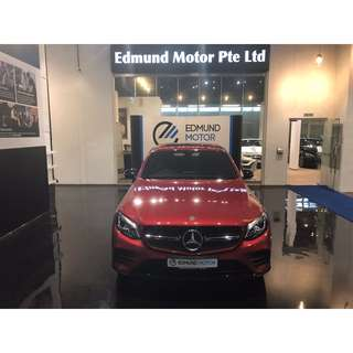 Mercedes Benz GLC250 COUPE 4MATIC AMG-LINE