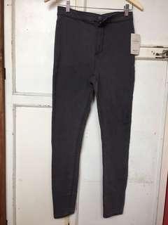 Denim Co Jegging Pants GREY