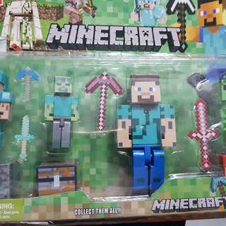 minecraft toy with light