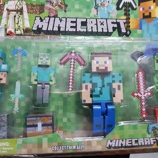 minecraft toy with light