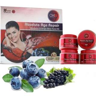 Absolute Age Repair Blueberry & Grape Wine Facial Kit