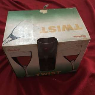 6pcs wine glass set