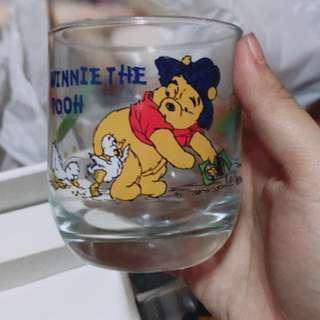 🚚 小熊維尼玻璃杯六個