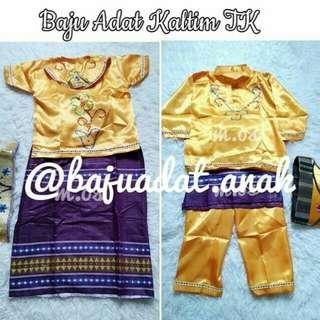 Baju Adat anak Nusantara