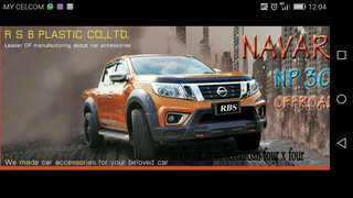Navara np300 body kit rbs thailand