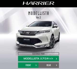 Toyota Harrier 2018 Bodykit