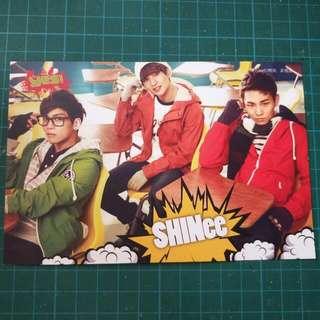 SHINEE postcard