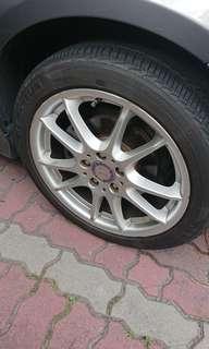 """17"""" Rims n Tyres"""