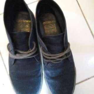 Antton & co, blue suede