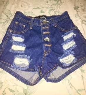 Hot pants Highwaist