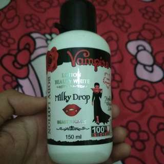 Vampire lotion beauty white