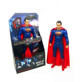 32CM Superman Movable ABS PVC Painted Action Figure