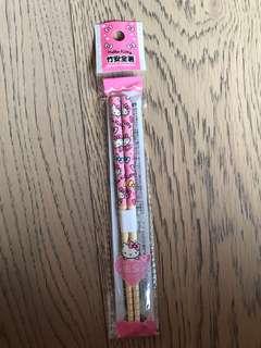 Hello Kitty chopsticks 16.5cm for kids