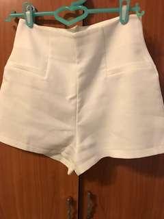 🚚 Air space 白色高腰褲