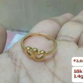 18K SD GOLD (RING) (ONHAND)