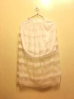 🚚 純白紗裙