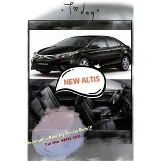 New Toyota Altis Available!! Drive Off Immediately!!!
