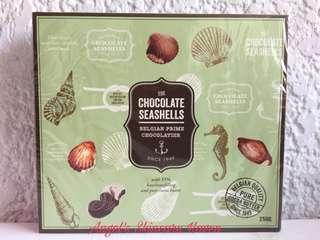 Vanden Bulcke: Chocolate Seashells Belgian Prime Chocolatier
