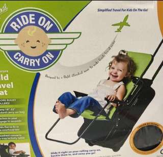 Price Reduced - Sit Along Seat On Luggage