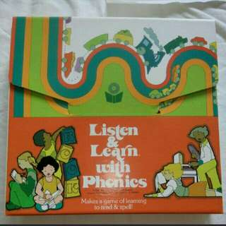 Listen and Learn With Phonics Set