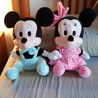 Mickey/Minnie Mouse Soft Toy