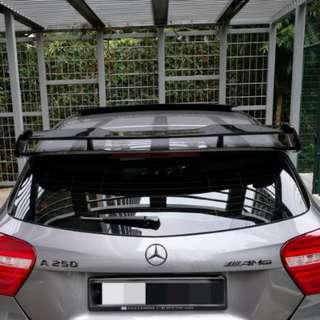 W176 AMG rear spoiler (Mercedes Benz A Class)