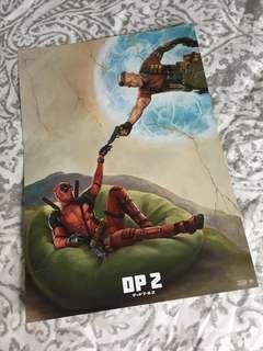 Deadpool 2 B5 Chirashi Japanese Movie Handbill Poster