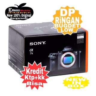 Kredit Low Dp Sony Alpha A7II Body+ FE 50mm F/1.8 Ditoko ktp+kk bisa wa;081905288895