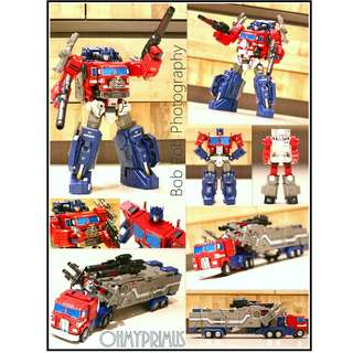 Fans Hobby FansHobby MB-06 MB06 Power Baser - Transformers Masterpiece MP Powermaster Optimus Prime / Super Ginrai (Reissue)