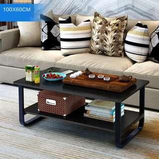 Wood Coffee Table Living Room Home Office Hotel Tea Table