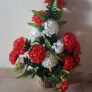 Artificial Flower Pot Flowers