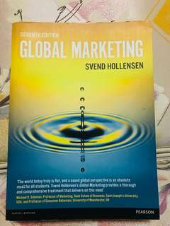 Global Marketing (7th Edition) by Svend Hollensen