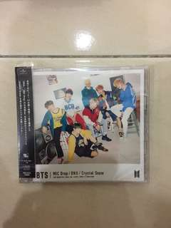 BTS JAPANESE ALBUM LIMITED EDITION A (CD+DVD)