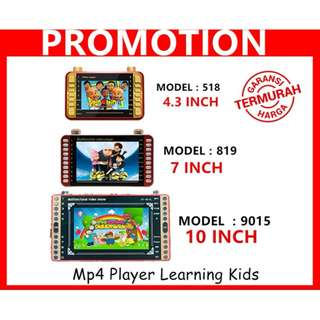 MP4 kids learning 4.3inch / 7 inch / 10 inch