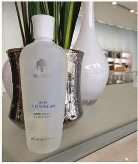 cleansing gel NUSKIN (sabun pembersih wajah)