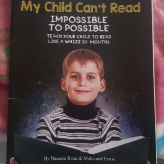 Book: Help My Child Can't Read.