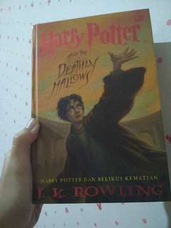 Novel Harry Potter 7