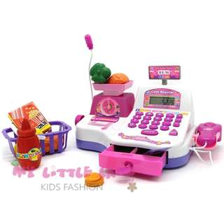 Cash Register Pretend Play Electronic+Scale+Calculator