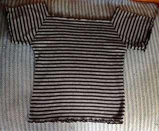 Stripes Off Shoulder ✨