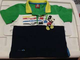 Mickey Mouse Polo Shirt