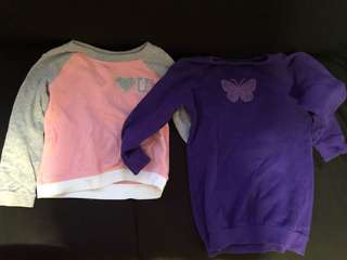 Girls' Sweaters - 4-5years old