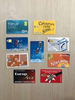 懷舊電話咭  Old Phone Card