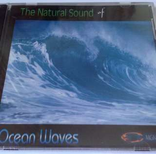 The Natural Sound Of Ocean waves ( CD )