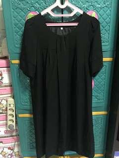 Dress hamil hitam