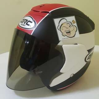 0404***ARC TAIRA Matt RED Helmet For Sale 😁😁Thanks To All My Buyer Support 🐇🐇 Yamaha, Honda, Suzuki