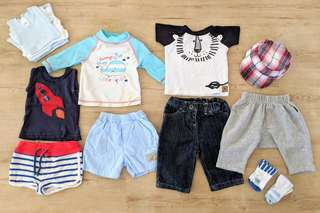 Baby Boys Bundle Size 000 (Bonds, Disney Baby, Country Road)