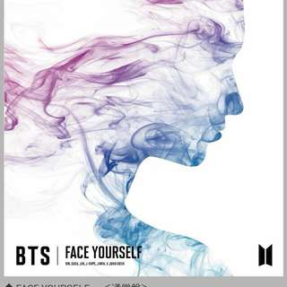PRE ORDER [SPECIAL BATCH] BTS FACE YOURSELF
