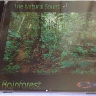 The Natural Sound Of Rainforest ( CD )